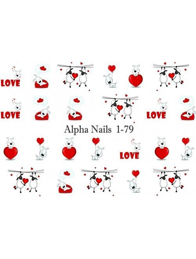 Nagel Sticker Love 1-79