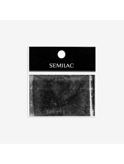 06 Transfer Nagelfolie Semilac Black Lace