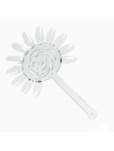 Display Farbmuster : Blume 10er Set mit Ring , Klar