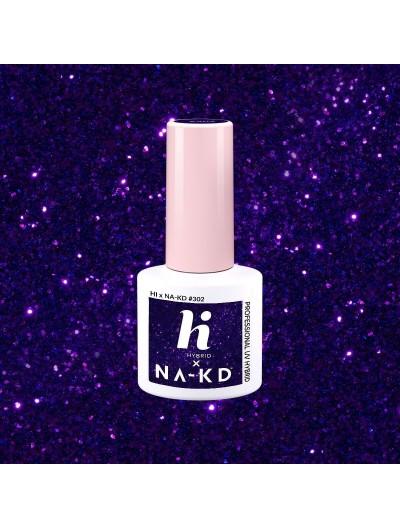 302 UV Nagellack Shiny Violet 5ml