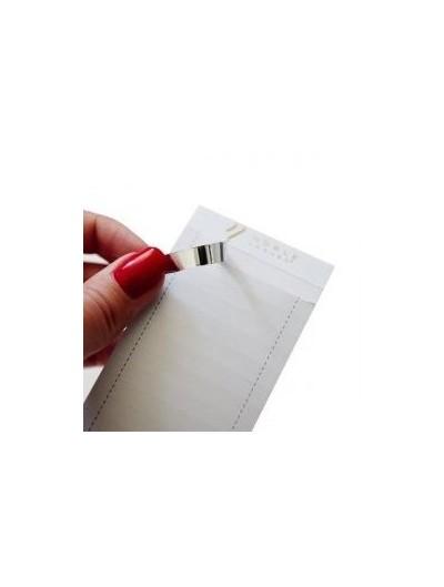 Silver Clean Peel Streifen