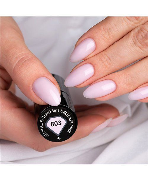 803 Semilac Extend 5in1 Delicate Pink 7 Ml