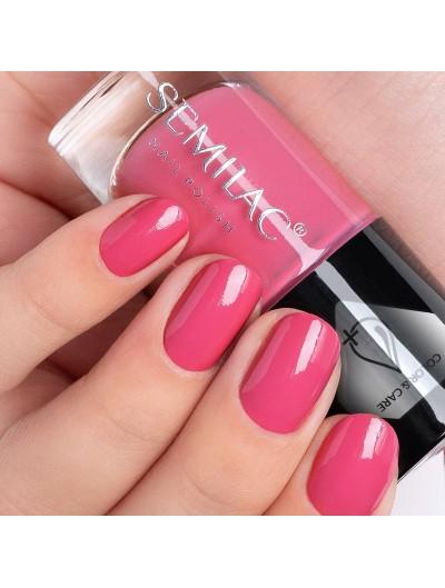 Pflegender Nagellack - Pink C672 - Semilac Color&Care