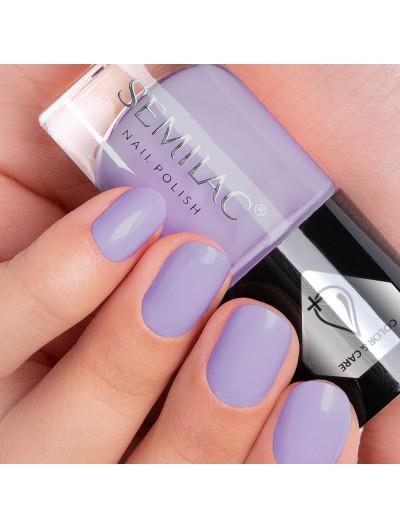 Pflegender Nagellack - Violett C710 - Semilac Color&Care