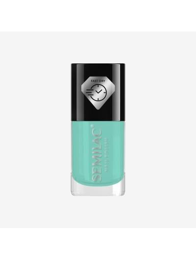 Schnelltrocknender Nagellack - Mint C940 - Semilac Fast Dry