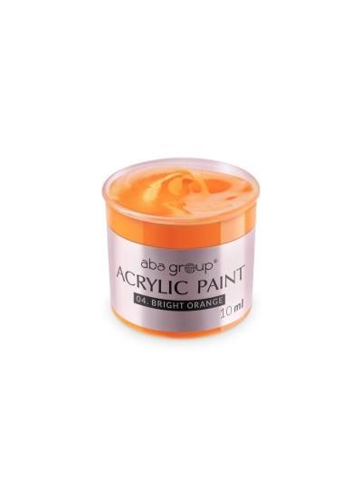 Acrylfarbe 04 Bright Orange 10ml