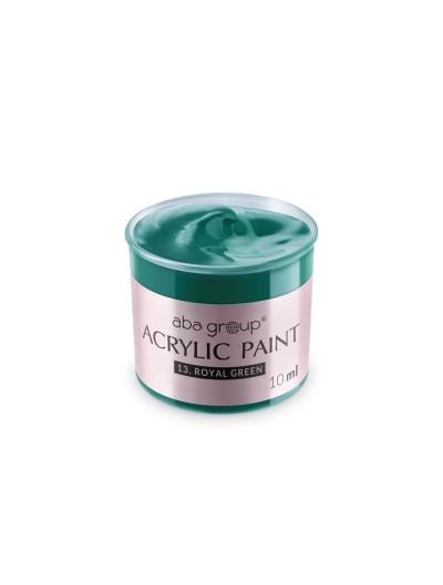 Acrylfarbe 13 Royal Green 10ml