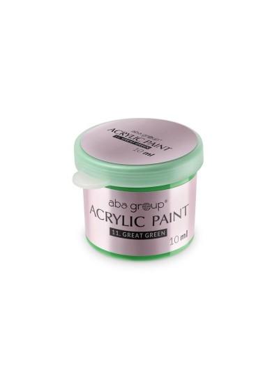 Acrylfarbe 11 Great Green 10ml