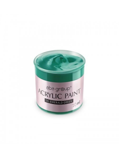 Acrylfarbe 14 Emerald Green 10ml