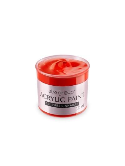 Acrylfarbe 10 Pure Cinnabar 10ml