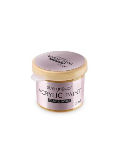 Acrylfarbe 07 Mild Ochra 10ml