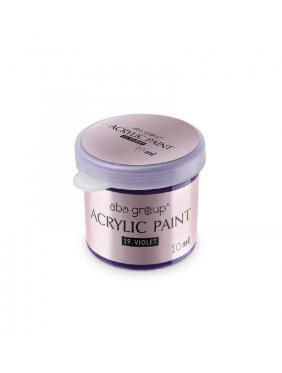 Acrylfarbe 19 Violet 10ml