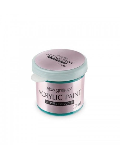 Acrylfarbe 18 Pure Turquoise 10ml