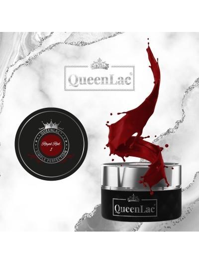 001 Naturharz UV Nagellack Royal Red 5ml
