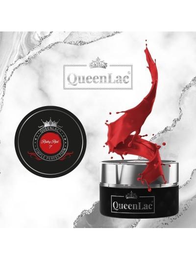 007 Naturharz UV Nagellack Ruby Red 5ml
