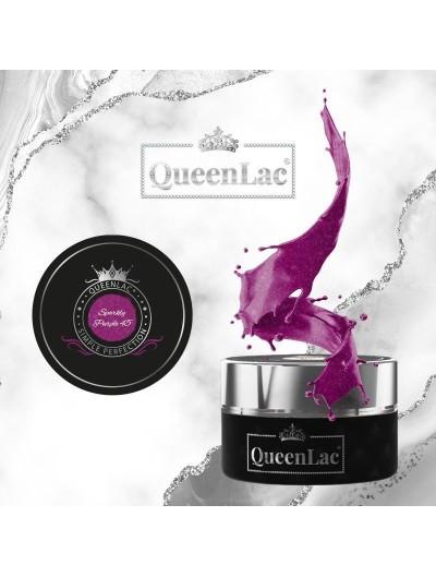 045 Naturharz UV Nagellack Sparkly Purple 5ml