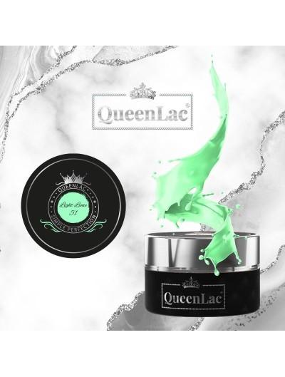 051 Naturharz UV Nagellack Light Lime 5ml