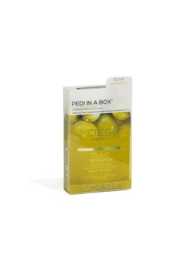 Pedi in a box Delux 4 Steps Pedi - Olive Sensation