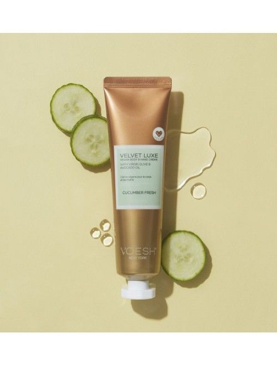 Velvet Luxe Vegan Body & Handcreme Cucumber Fresh 85g