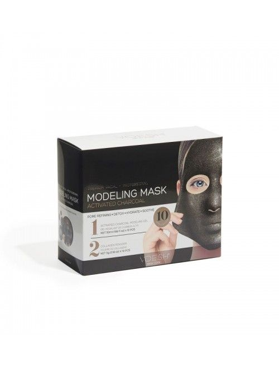 Gesichts- und Modellierungsmaske - Activated Charcoal 10 St.