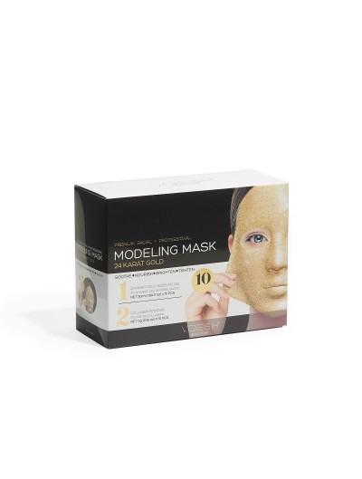 Gesichts- und Modellierungsmaske - 24 Karat Gold 10 St.