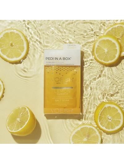Pedi in a box 3 Steps Pedi Waterless - Lemon Quench