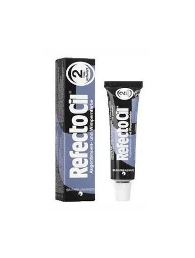 Augenbrauen und Wimpernfarbe Nr. 2.0 schwarz blau 15 ml