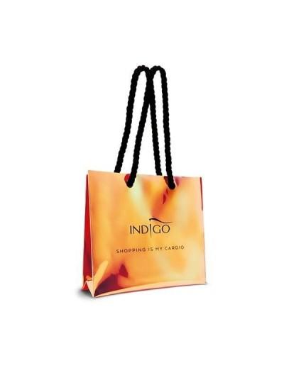 Holo-Einkaufstasche Orange