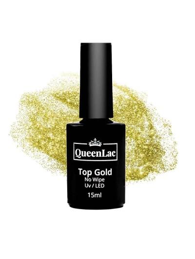 Top Gold No Wipe für Naturharz UV Nagellack 15ml