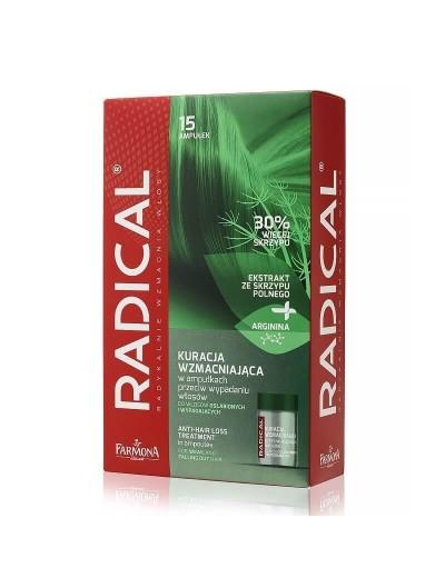 Radical - Kräftigende Behandlung in Ampullen gegen Haarausfall 15x5ml