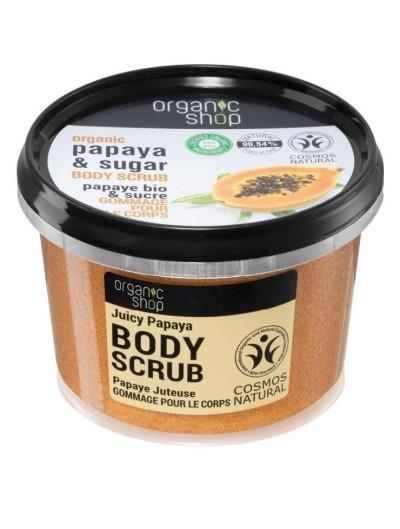 Organic Papaya & Sugar Body Scrub 250g