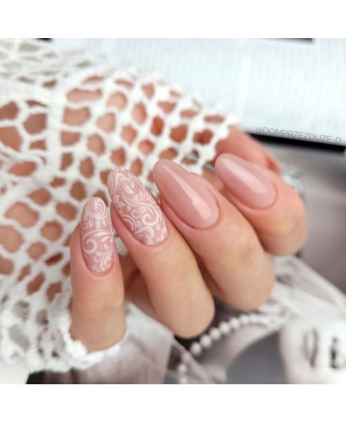 13 Transfer Nagelfolie White Lace