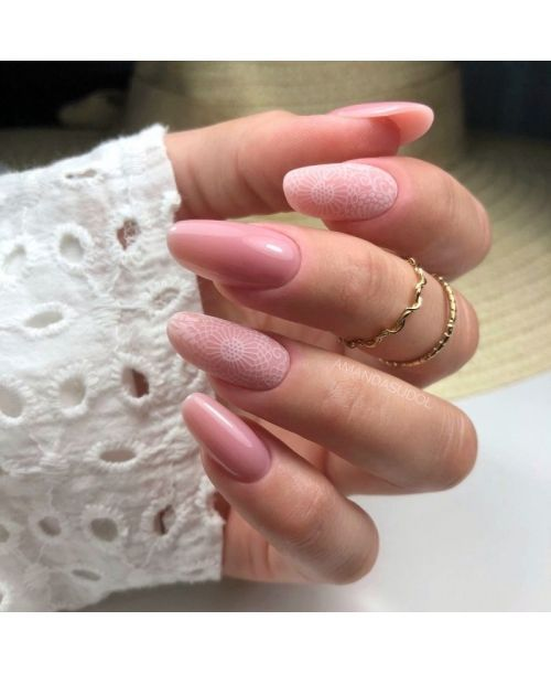 14 Transfer Nagelfolie White Lace