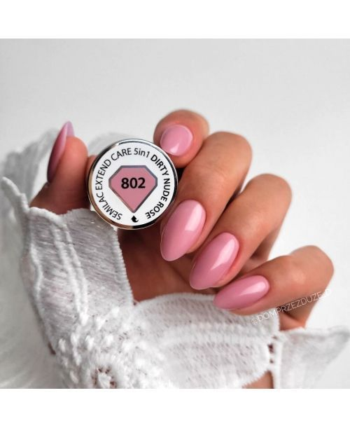 802 UV Nagellack Extend CARE 5in1 Dirty Nude 7ml
