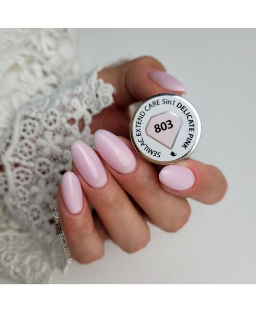 803 UV Nagellack Extend CARE 5in1 Delikate Pink 7ml
