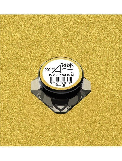 Semilac® UV Gel Semi-Art 004 Gold