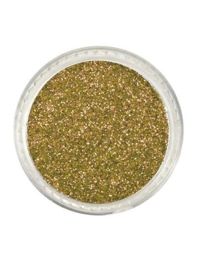 Glitterpuder gold fein 02