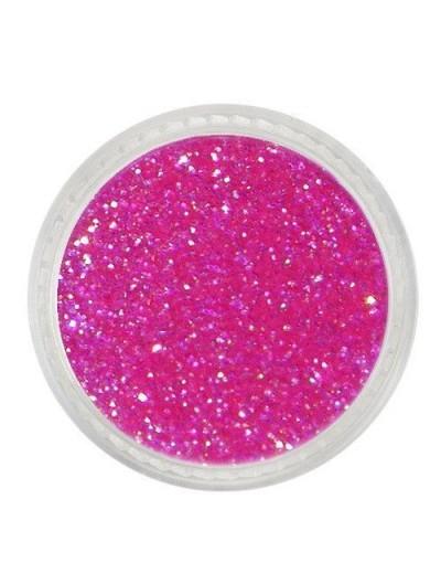 Glitterpuder neonpink fein 06