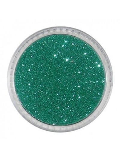 Glitterpuder grünn metallic fein 07