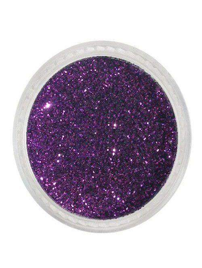 Glitterpuder dark aubergine fein 09