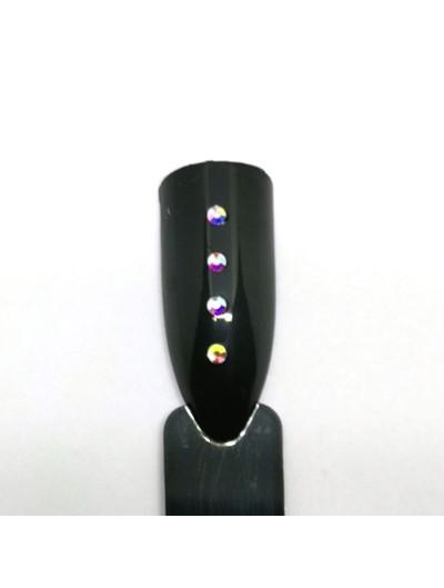 Glas Strasssteine SS4 02 Crystal AB irisierend