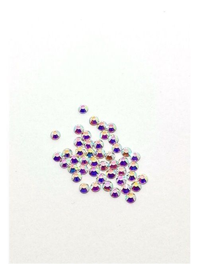 Glas Strasssteine SS6 02 Crystal AB irisierend