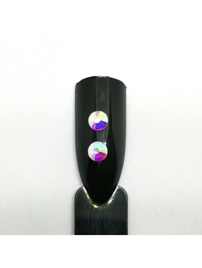 Glas Strasssteine SS16 02 Crystal AB irisierend