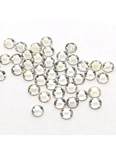 Glas Strasssteine SS10 01 Crystal